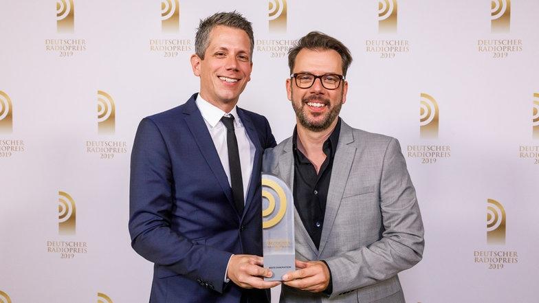 """Deutscher Radiopreis: Der SWOP gewinnt in der Kategorie """"Beste Innovation"""""""
